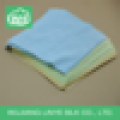 double sides brushed microfiber eyeglass cleaning cloth
