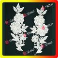 White embroidery collar designs