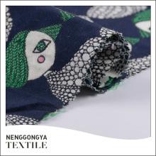 Chine Tissu jacquard doux 50% coton 50% polyester