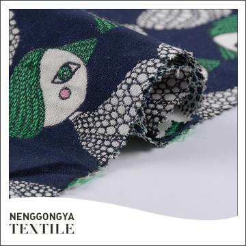China Tejido jacquard suave de diseño 50% algodón 50% poliéster