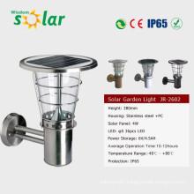 Led-solar light CE nice design outdoor solar wall lamp JR-2602-B