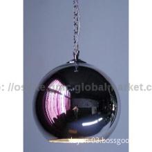 Modern simple design glass ball pendent lamp