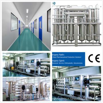 Projet clé en main pour usine pharmaceutique personnalisé