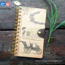 Top Quality 40k Classical Cover Spiral Notebook with Buckle