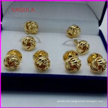 VAGULA Wholesale Quality Knot Collar Studs Buttons Cufflinks Hl161284