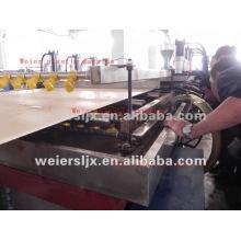 Машина WPC производственная линия плиты WPC