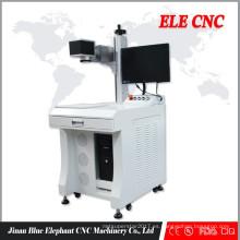 mini máquina portátil de la marca del laser de la fibra, máquina de marcado del laser de la fibra de escritorio con CE
