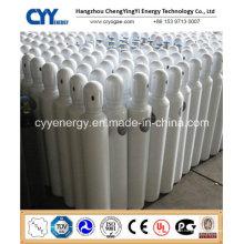 Cylindre à gaz à oxyde nitreux à haute pression en acier sans soudure