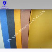 weißes Korund-Weißpapier der hohen Qualität, das farbiges Sandpapier unterstützt