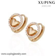 92711 Xuping nouvel été spécial boucle d'oreille plaqué or pour la fête