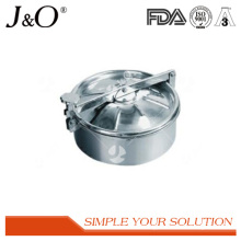 Stainless Steel Without Pressure (Upper Seal) Round Manhole