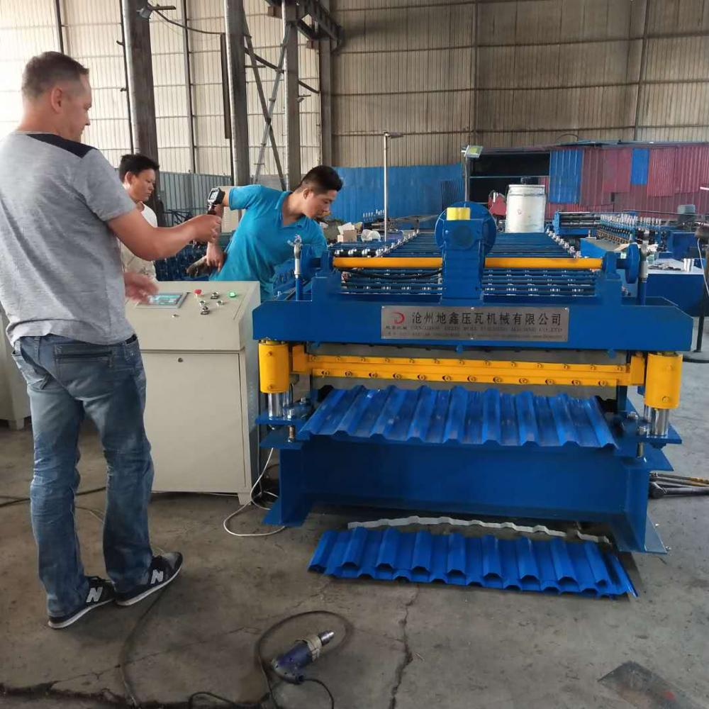 Steel Roofing Panel Forming Machine