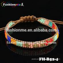 graines de perles bracelet élastique réglable