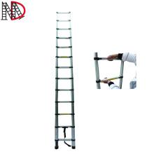 3.2 meter Aluminium extension telescopic step ladders with EN131