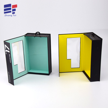Art paper folding electronics box