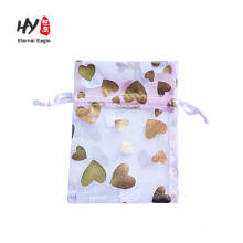custom size fast delivery light organza bag