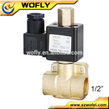 Medium pressure normally closed 1/2 DC24 volt solenoid valve