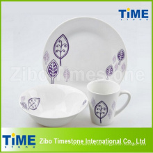 12PCS Country Style Porcelain China Vajillas