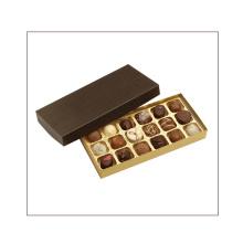 Boîte à emporter cadeau à chocolat en carton de luxe à la main