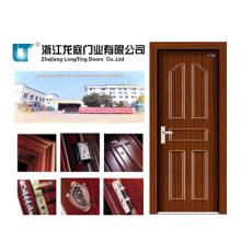 Porta de madeira de aço interior (LTG-115)