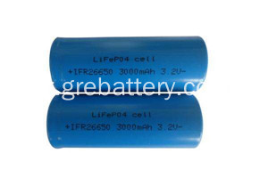 3, 2V rechargeabe au lithium batterie LiFePO4 batterie