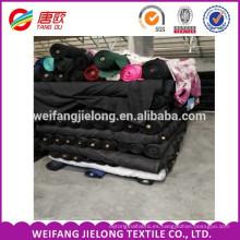 China tc / 100% tejido de sarga de algodón tejida lotes de existencias de tela tc 280gsm t / c 65/35 sarga 16 * 12 108 * 58