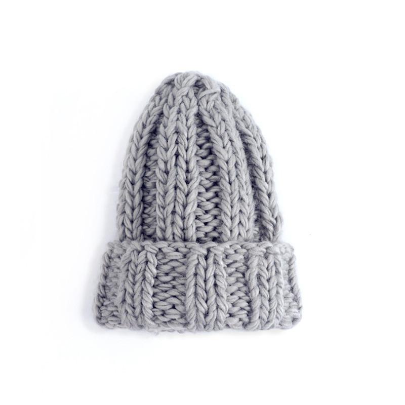Winter warm shag hat knit hat ear cap (9)