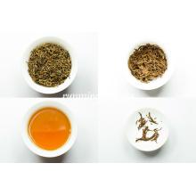 Императорские золотые бутоны Tan Yang Gongfu черный чай, органический черный чай, фуджийский чай