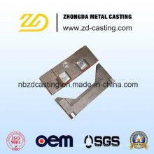Coulée de sable d'acier allié d'OEM pour des pièces de machines de construction