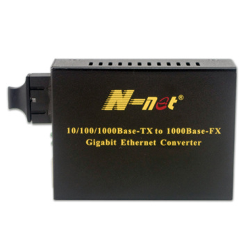 10 / 100M Dual Fiber Single mode optic Media Converter
