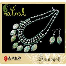Fancy Fashional hecho a mano al por mayor de coral natural grande real multicolor grande artificial de joyería de piedra semipreciosa haciendo