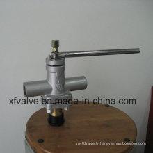 Vanne à fiche manuelle à filetage manuel ANSI Standard Forged Steel A105