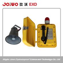 rugged outdoor waterproof telepnone with loud speaker