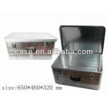 caja de herramientas de almacenamiento caso de herramienta de aluminio aluminio