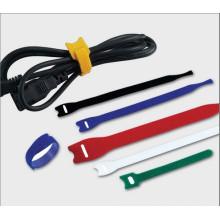 Cravate de câble de crochet et de boucle auto-préhension réutilisable (12.5 * 200MM)