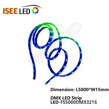 Tiras flexíveis LED de endereço automático de controle DMX