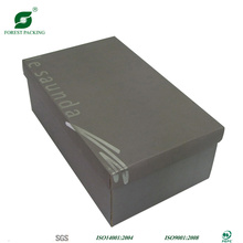 Caja de empaquetado reciclable de los zapatos plegables