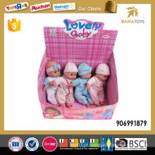 Bonito brinquedo brinquedo bebê conjunto com IC