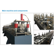 YTSING-YD-000580 Passed CE and ISO Automatic Control Top Hat Purlin Roll Forming Machine