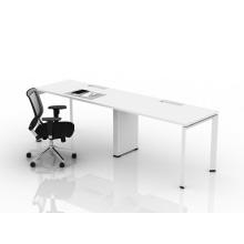 Office executive desk with cabinet/corner desk workstation