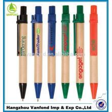 Haga clic en mini reciclado lápiz de papel con impresión de logotipo