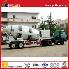 Betonmischer-halb Anhänger mit dem Volumen 12-16m3 optional