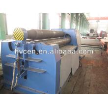 Machine à rouler à plateaux à 4 rouleaux w12-40 * 2000 / machines de cintrage de panneaux hydrauliques / machine à laminer à plaque hydraulique cnc