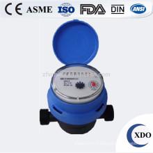Compteur d'eau volumétrique du R = 160 classe C du piston en laiton Chine XDO VML-15