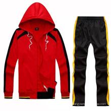 Atacado Sport Wear Materiais Desportivos Made Leisure Outwear Track Suit