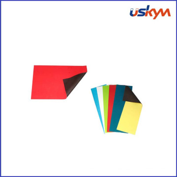 Flexible Rubber A4 Size Colored PVC Rubber Magnetic Sheet