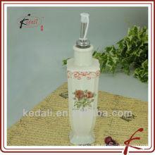 Quadratisches Öl oder Essig Flasche