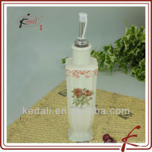 square oil or vinegar bottle