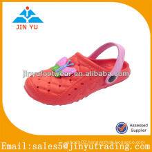Hot sell children red eva garden shoes