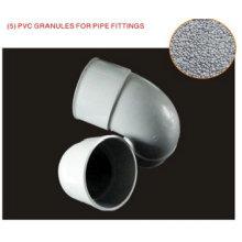 Tubulação e acessórios de grânulos de PVC